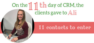 CRM Contact Records Tip
